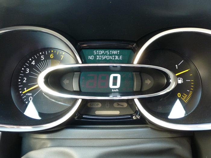 Renault Clio 2013. Sistema Stop&Start no disponible