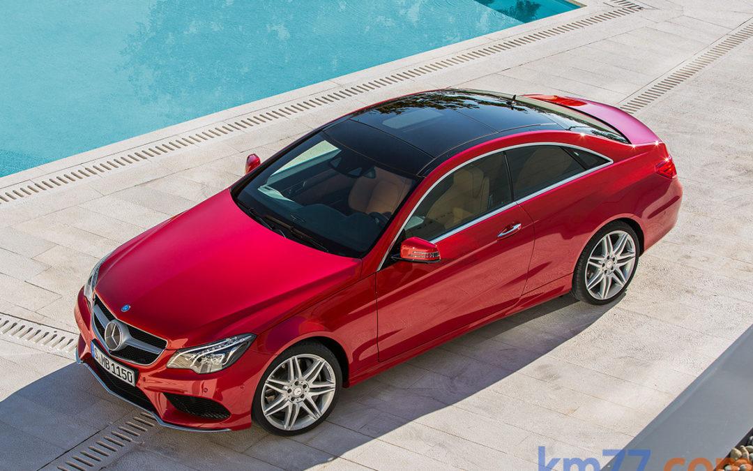 A la venta las versiones Coupé y Cabrio de la Clase E de Mercedes-Benz