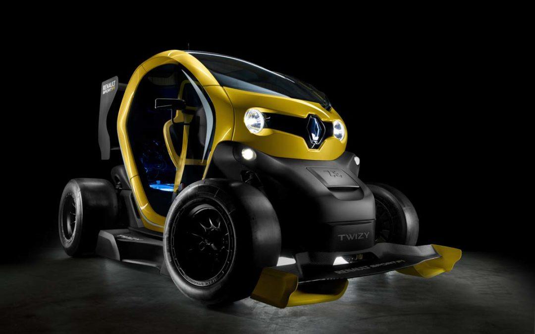 Twizy Renault Sport F1. Tecnología de F1