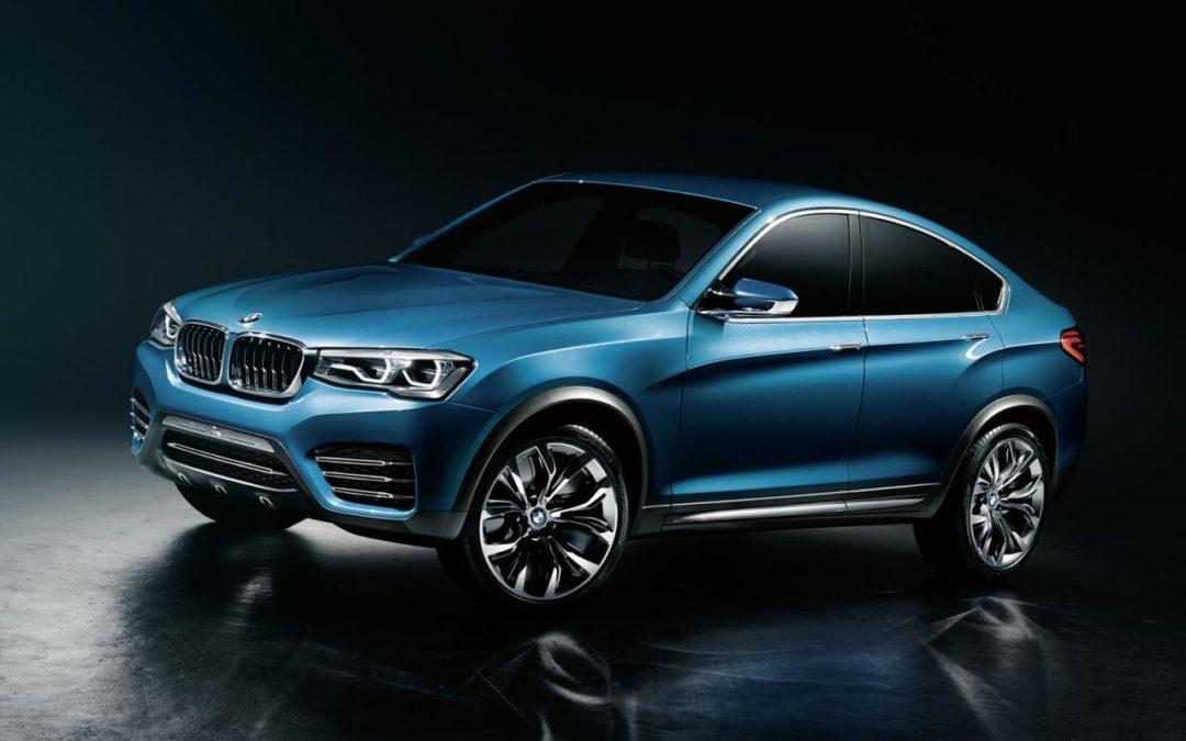 BMW X4 Concept, una clara ofensiva contra el Evoque