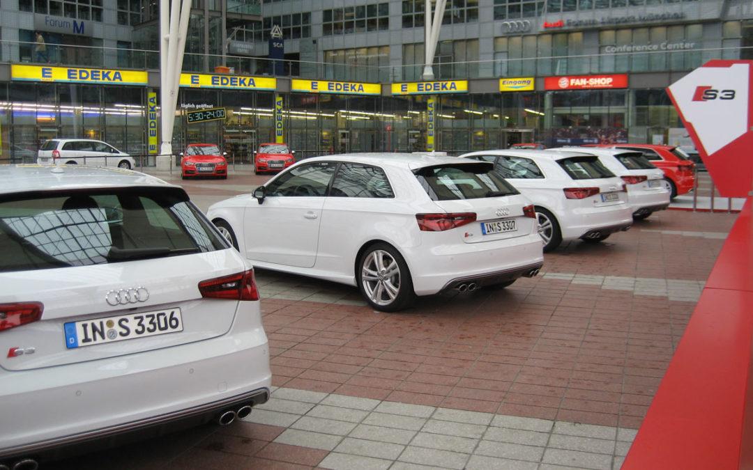 Audi S3 (2013). Presentación en Múnich