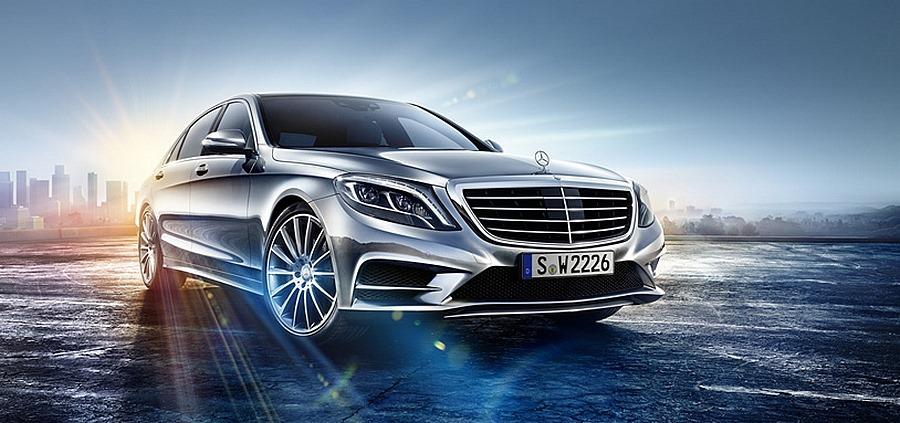 Primera imagen oficial del Mercedes-Benz Clase S