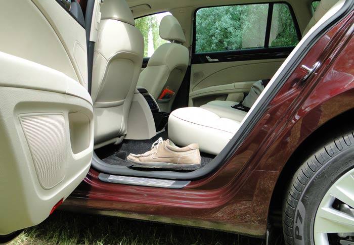 Škoda Superb y Superb Combi. Plazas traseras y maletero