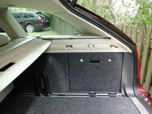 Škoda Superb Combi. Altura del maletero
