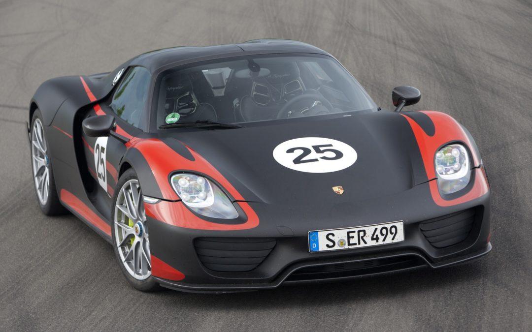 Porsche 918 Spyder. La sesión de fotos al completo.