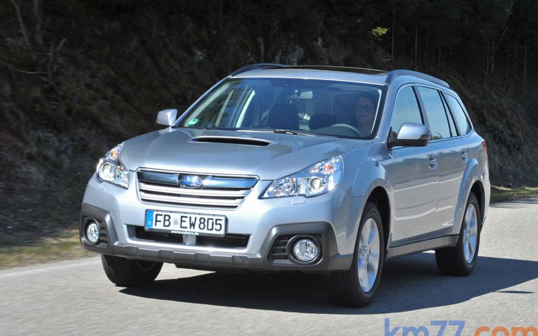 Cambios en la gama Subaru Outback