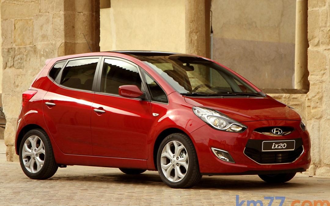 Hyundai ix20, nueva gama ya a la venta