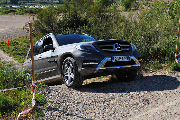 Mercedes-Benz Clase GLK. Circuito Offroad