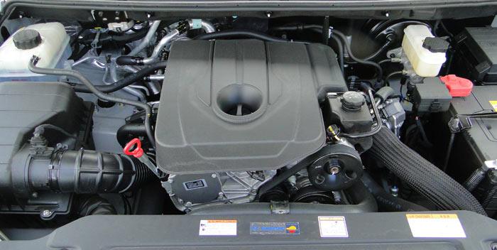 SsangYong Rodius. Motor