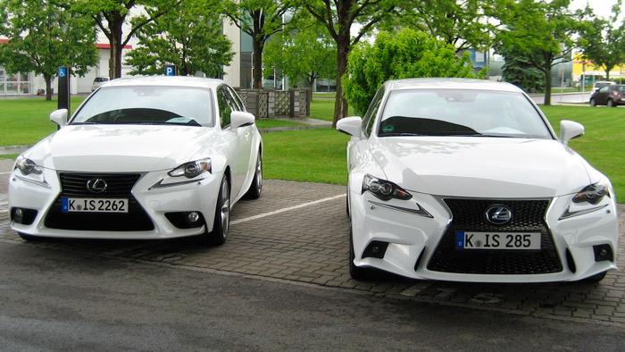 Hybrid plus frente al F-Sport