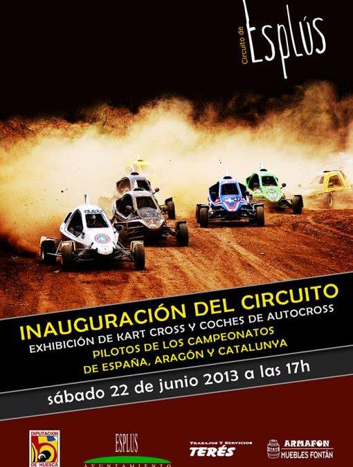 ¿Inauguramos un circuito de autocross en Esplús?