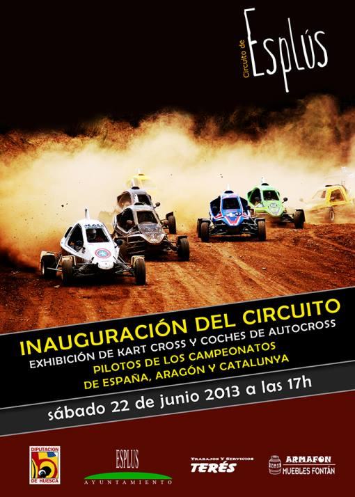 inauguración circuito autocross Esplús