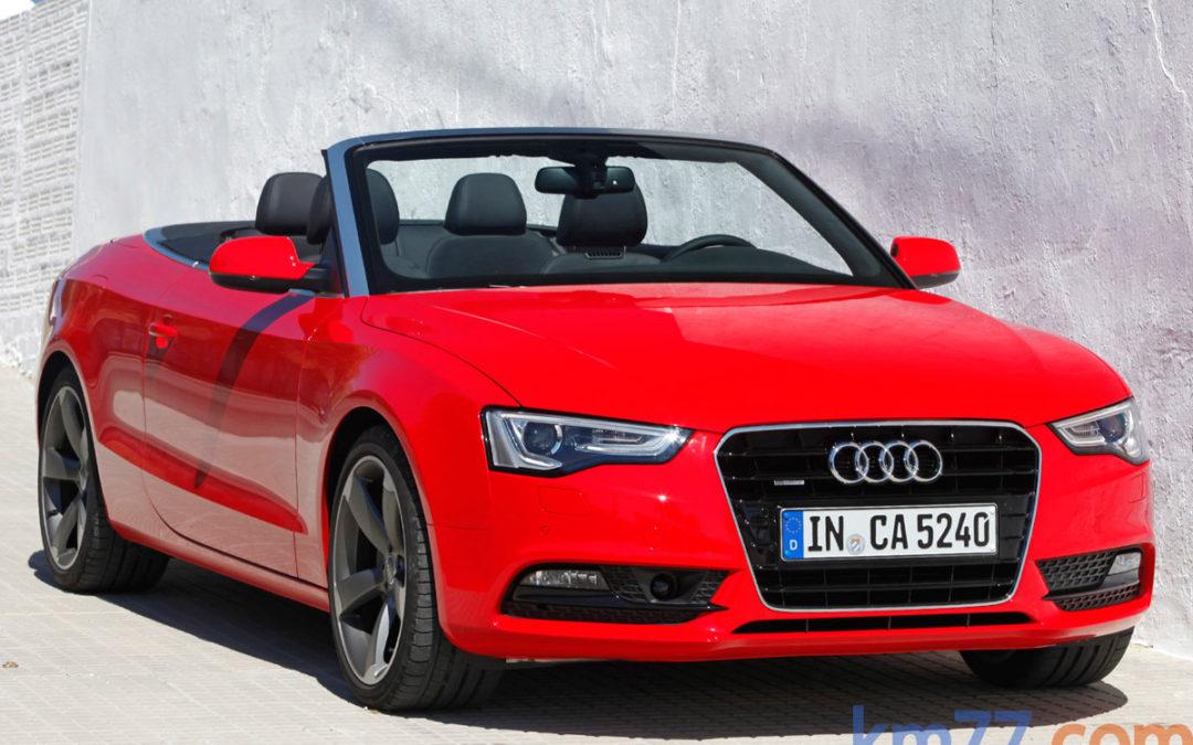 Cambios en la gama Audi A5