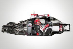 Audi-Sportprototypen: ultra-Leichtbau in Perfektion