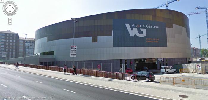 Iradier Arena o Plaza de toros de Vitoria