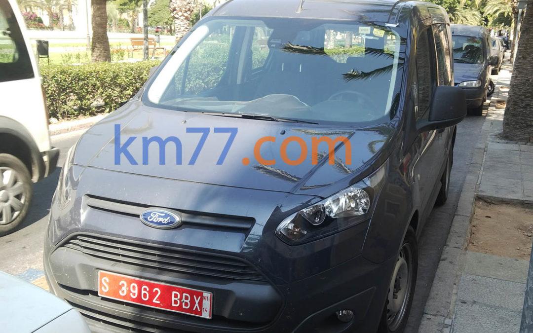 Fotos espía: Ford Tourneo Connect