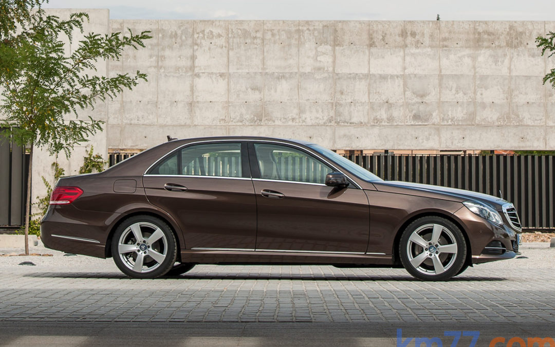 El Mercedes-Benz Clase E estrena la nueva caja de cambios de 9 velocidades
