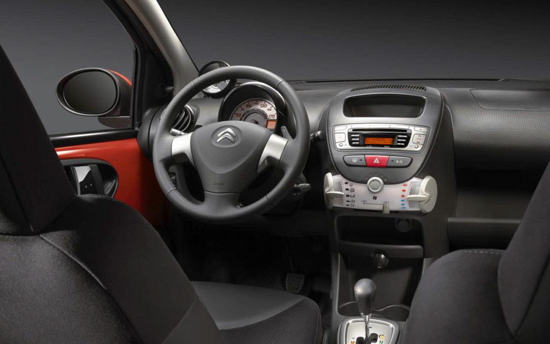 Cambios en la gama Citroën C1. Nueva caja de cambios robotizada ETG.