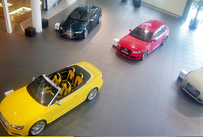 Audi RS 7 Sportback. Presentación en Neckarsulm.