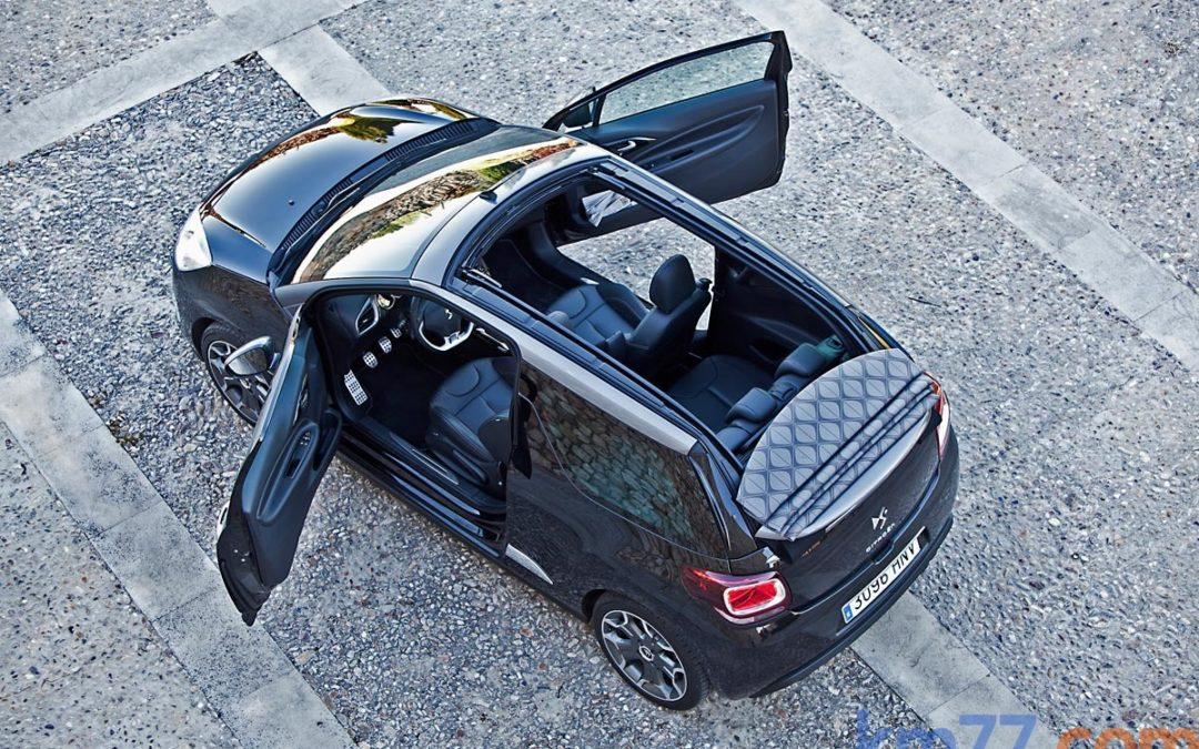 Citroën DS3 Cabrio, ahora con el motor e-HDi 90 y cambio manual