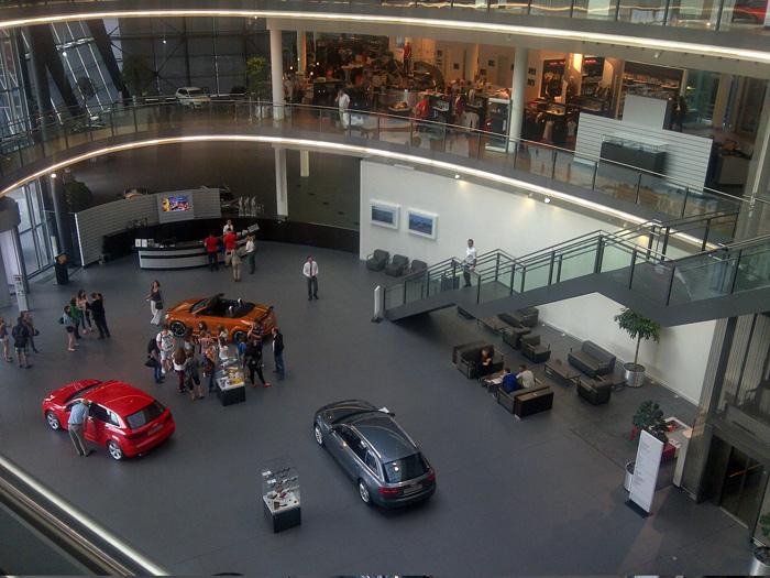 Imagen del Audi Forum de Neckarsulm