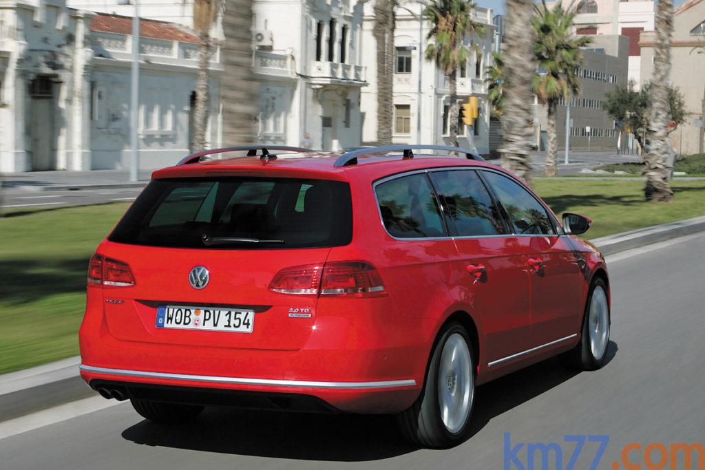 Der neue Volkswagen Passat Variant mit BlueMotion Technology