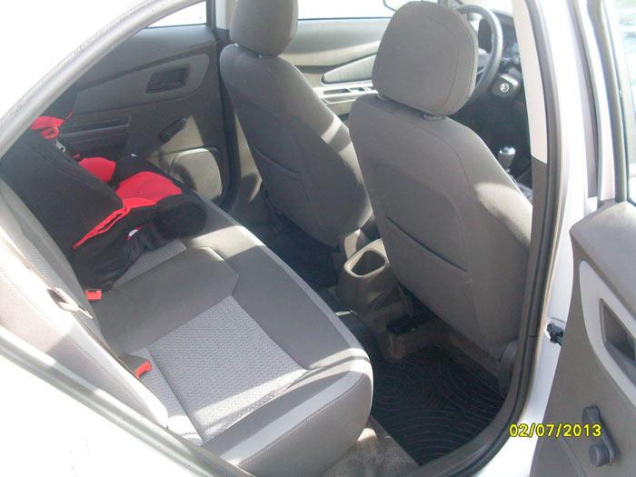 Chevrolet Cobalt. Asientos traseros