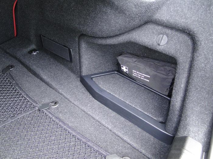BMW Serie 4 Coupé. Maletero