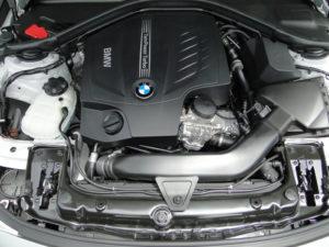BMW Serie 4 Coupé. 335i. Detalle del motor