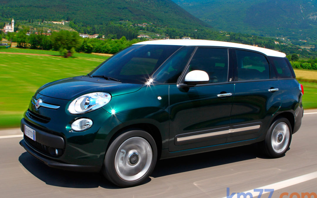 Ya a la venta el Fiat 500L Living