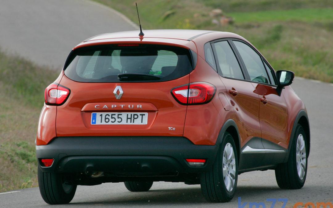 Renault Captur dCi, ahora con cambio automático EDC