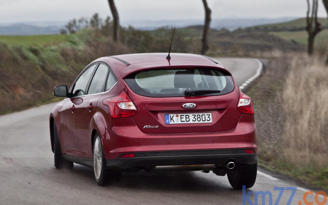 Ford presenta el Focus EcoBoost más eficiente. Disponible en 2014
