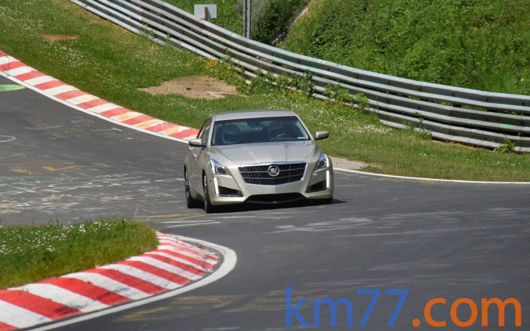 Cadillac utiliza el Ring para poner a punto el CTS-V