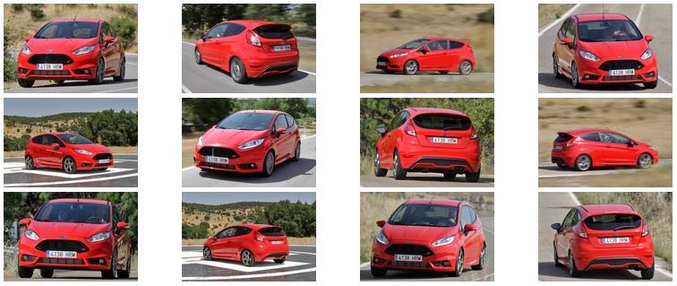 Ford Fiesta ST, Peugeot 208 GTi y Renault Clio RS. Imágenes y sonido.