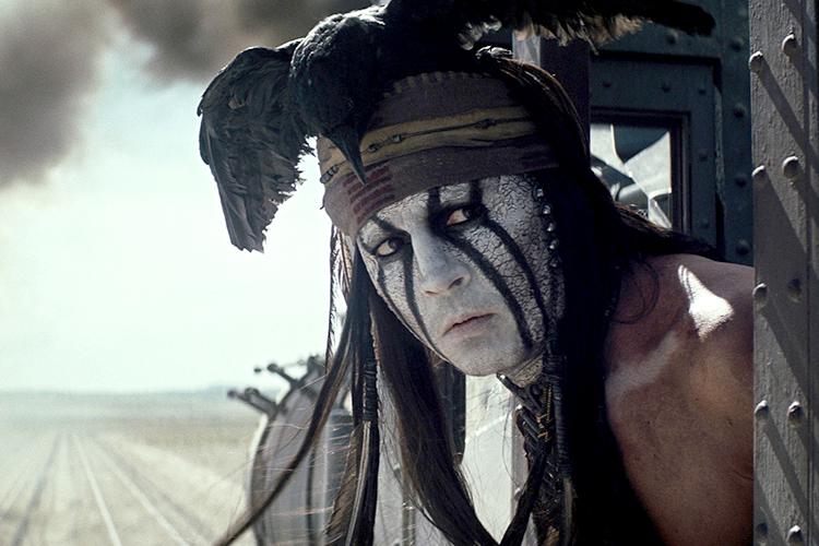Johnny Depp es Tonto