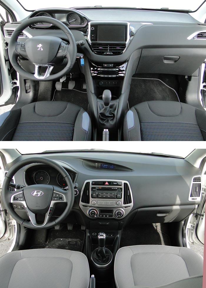 Peugeot 208 / Hyundai i20