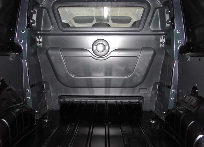 Toyota Proace. Espacio de carga. Versión seis plazas.