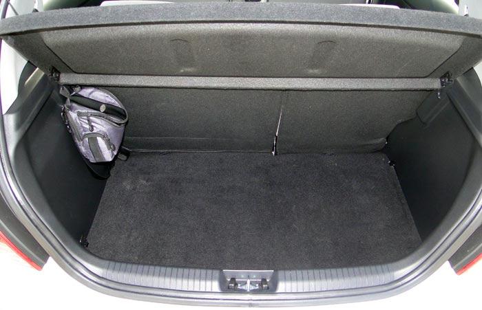 Hyundai i20. Maletero
