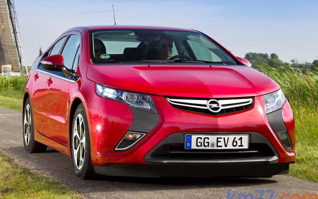El precio de venta del Opel Ampera sufre una importante bajada