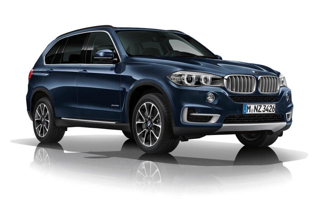 Máxima protección con el nuevo BMW X5 Security Plus