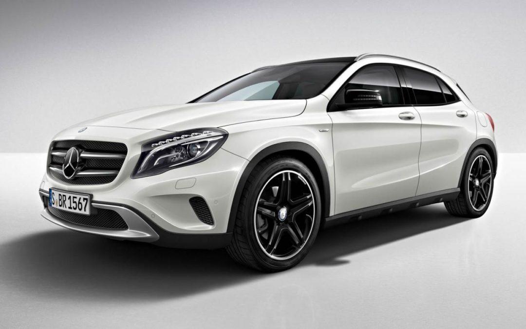 Mercedes-Benz GLA Edition 1. La primera versión limitada
