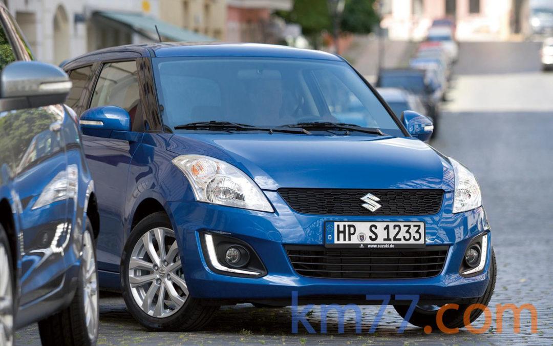 Suzuki pone a la venta la nueva gama Swift, desde 10 330 €