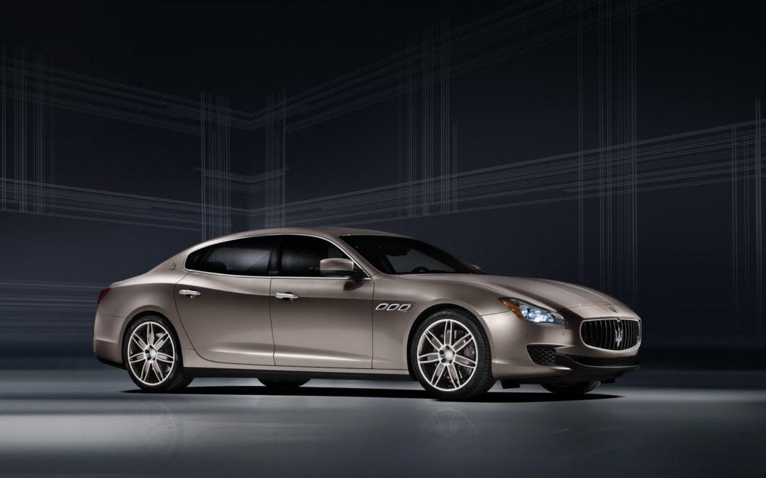 Maserati presenta el Quattroporte Ermenegildo Zegna Limited Edition