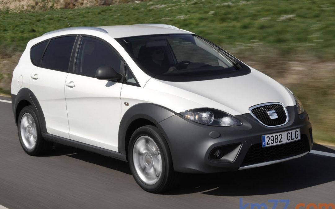 SEAT reduce la gama de motores en los Altea, Altea XL y Altea Freetrack