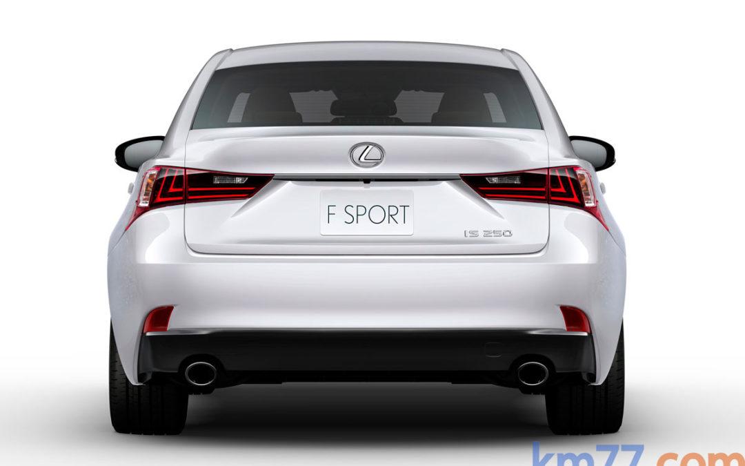 Lexus anuncia la comercialización del nuevo IS250, con motor V6 de 208 CV
