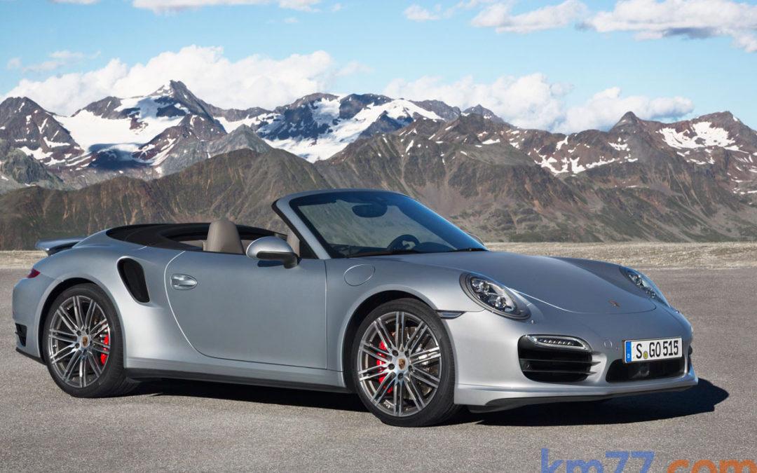 Porsche 911 Turbo y Turbo S Cabriolet en movimiento