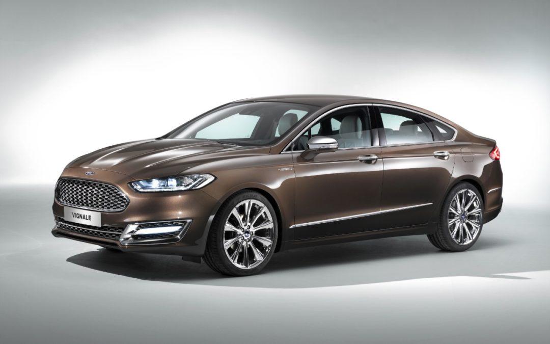 El Ford Mondeo Vignale será presentado en Fráncfort