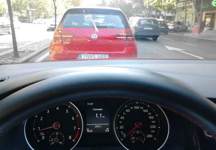 Recorrido consumo Volkswagen Golf GTD y GTI