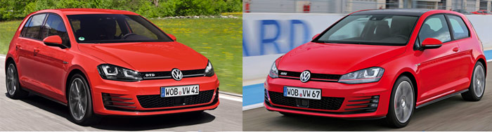 Volkswagen Golf GTI contra Golf GTD: Va de sensaciones y vídeos. El motor lo es todo