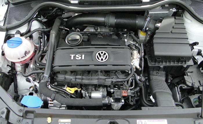 Volkswagen Polo R WRC. Motor